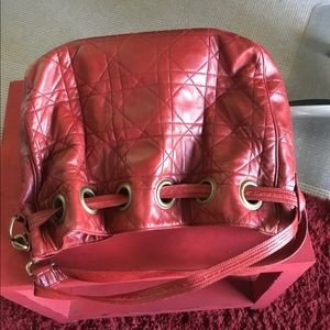Christian Dior Cannage quilted lambskin  bag